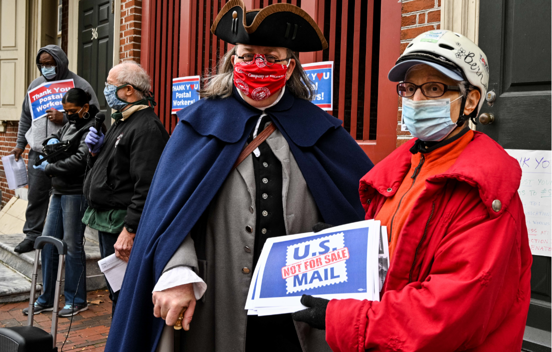 Ben Franklin and US Mail Not For Sale Support